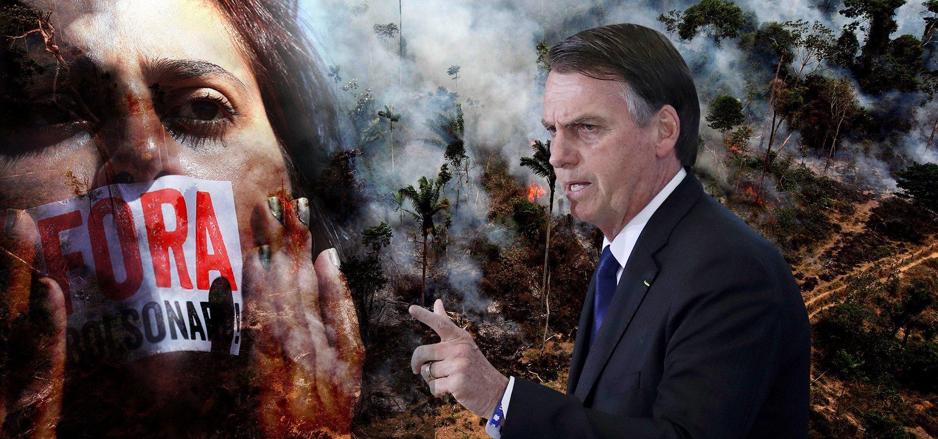 Αµαζόνιος: Ο «πνεύμονας» της Γης πεθαίνει µε τις ευλογίες του Μπολσονάρο