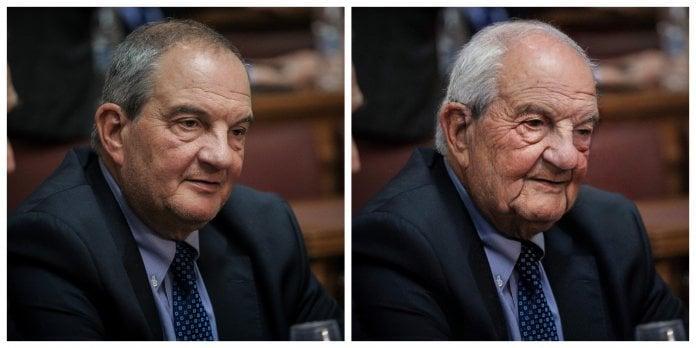 Έλληνας πολιτικός και πρώην πρωθυπουργός της Ελλάδας, Κώστας Καραμανλής