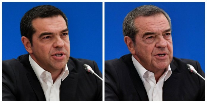O πρόεδρος του Συνασπισμού Ριζοσπαστικής Αριστεράς, Αλέξης Τσίπρας
