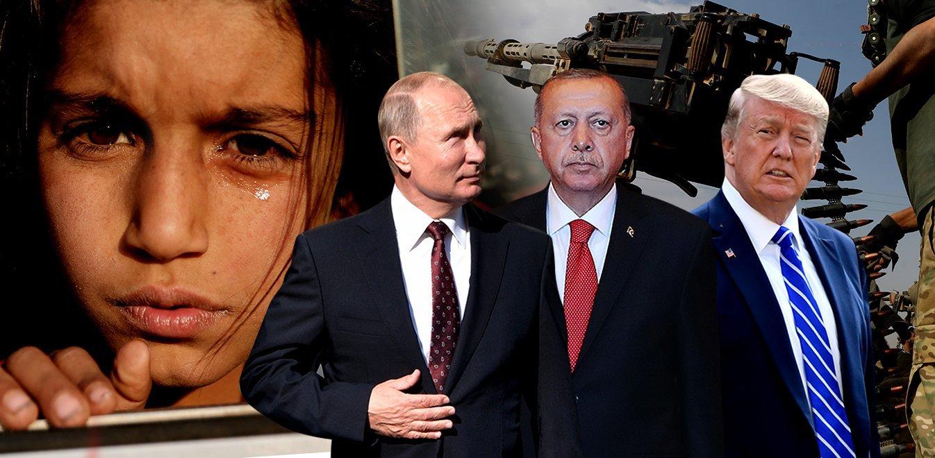 Συρία: Πούτιν-Ερντογάν δίνουν διορία 150 ωρών για την απομάκρυνση των Κούρδων (vid)
