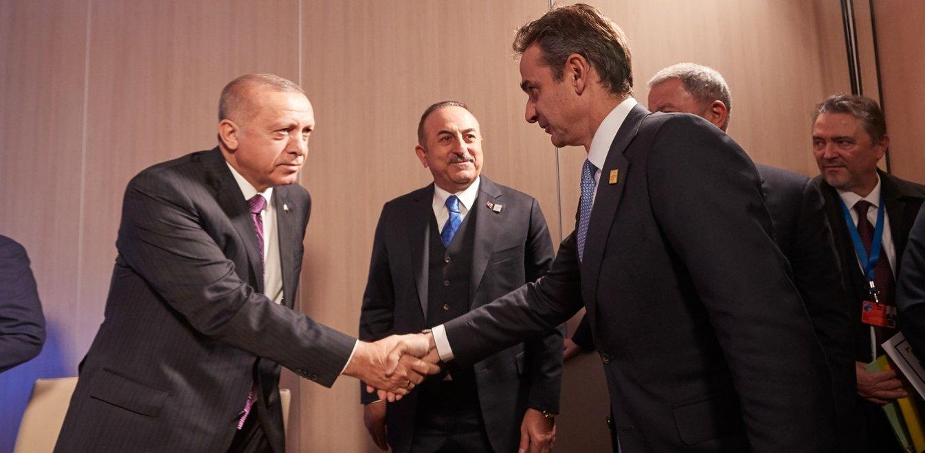 Συνάντηση Μητσοτάκη-Ερντογάν: Ανεκτή αλλά δύσκολη η συζήτηση (vid)