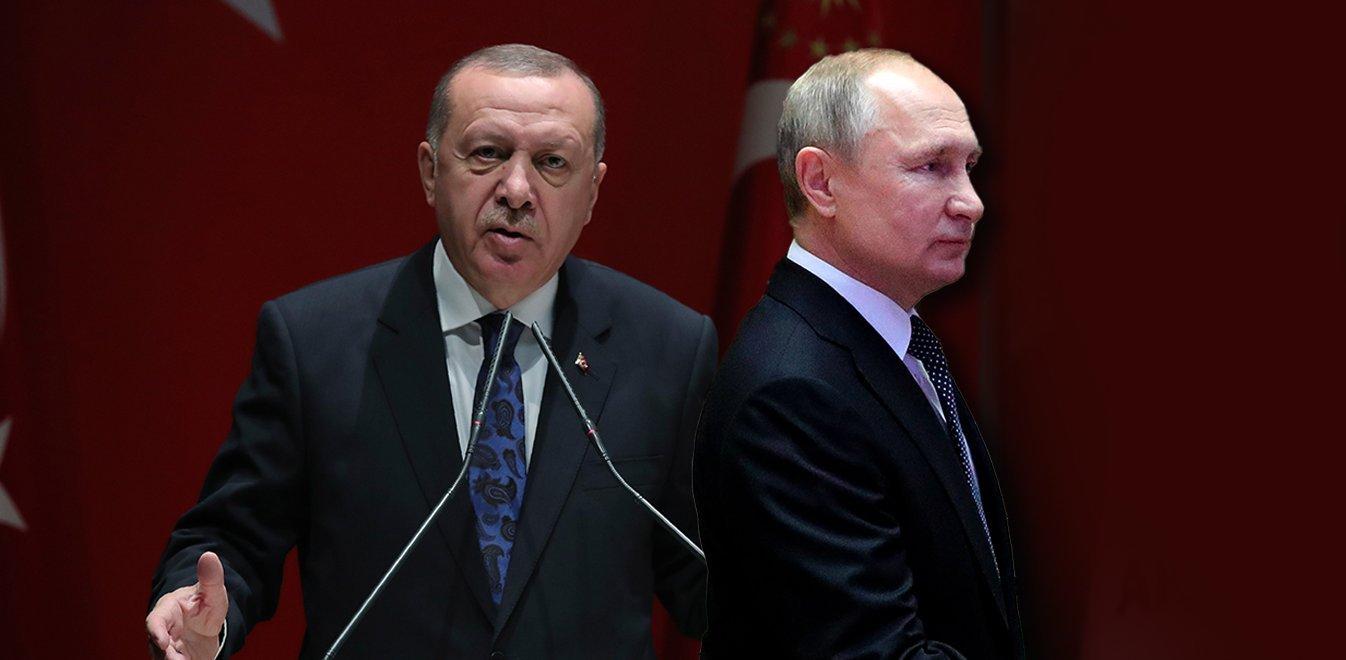 Κρίσιμη τηλεφωνική επικοινωνία Ερντογάν-Πούτιν σήμερα στις 18.00 για τη Συρία