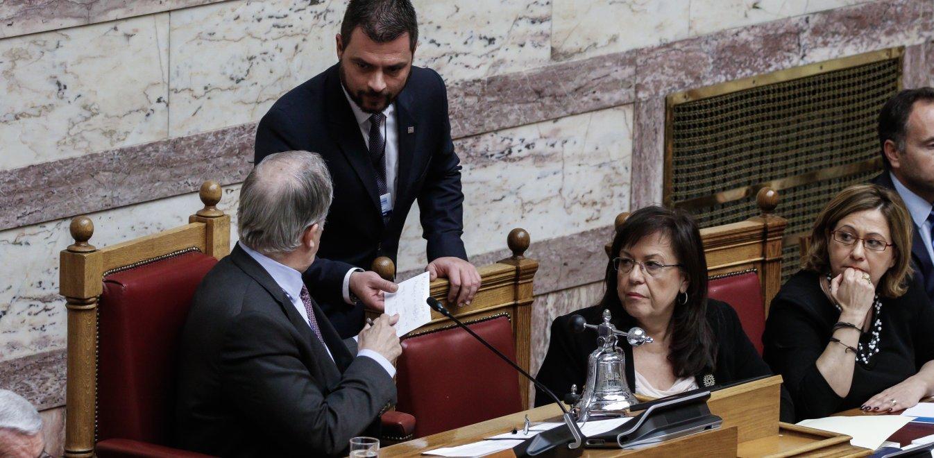 Ο Βαρουφάκης κατέθεσε στη Βουλή τις ηχογραφήσεις από τα Eurogroup του 2015