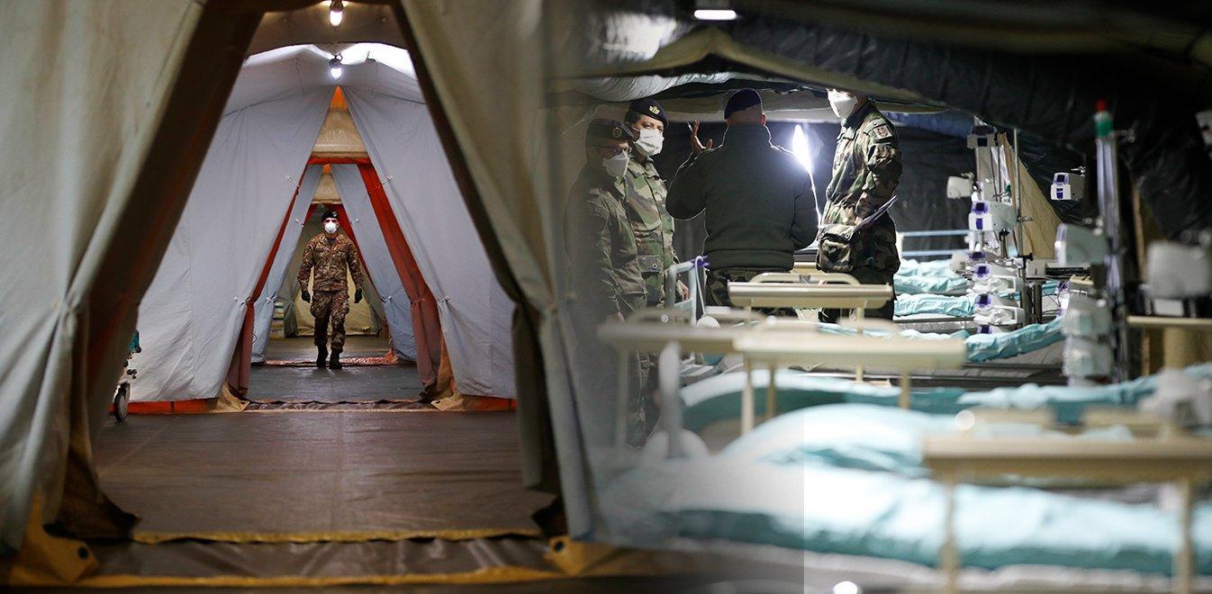 Κορονοϊός - Ιταλία: 743 νεκροί σε 24 ώρες - 69.176 κρούσματα | Έθνος