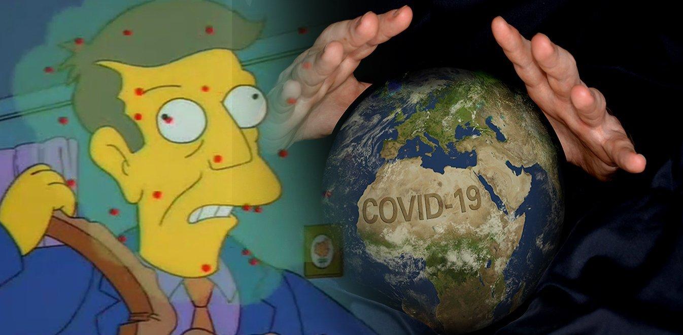 Κοροναϊός: Ποιοι «προέβλεψαν» τον ιό - Από μέντιουμ στους Simpsons και το Contagion