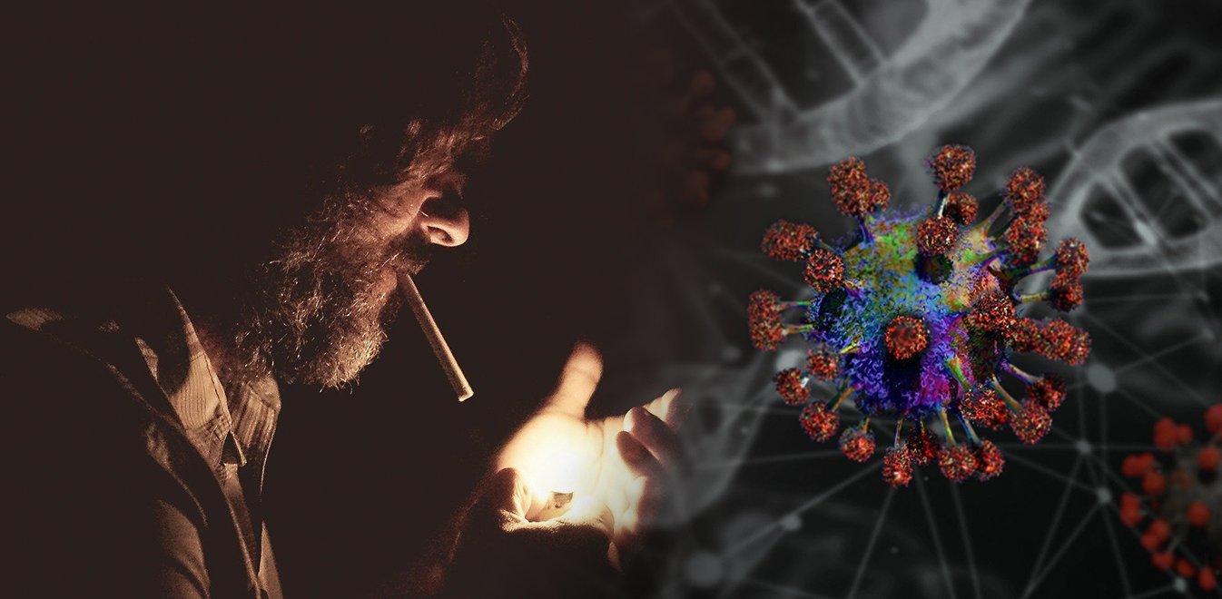 Κορονοϊός: Προσοχή στους καπνιστές - Ο καπνός περνά και από τις καλύτερες μάσκες
