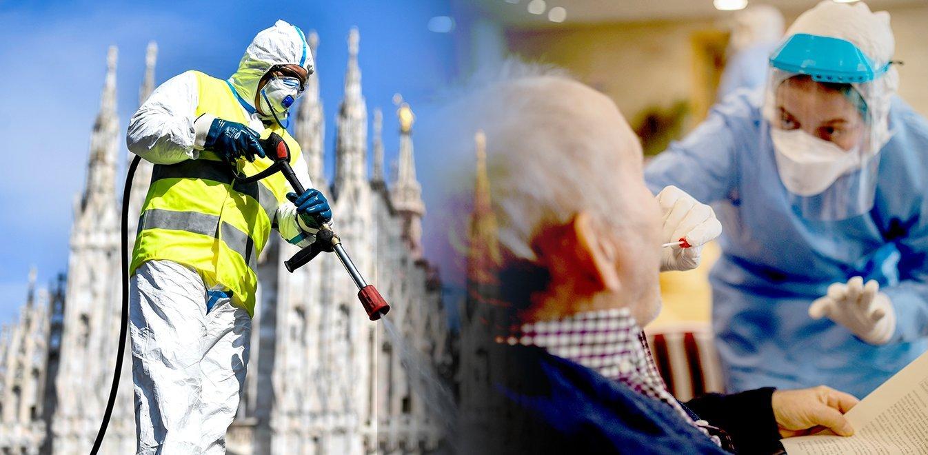 Κορονοϊός - Ιταλία: 760 νεκροί το τελευταίο 24ωρο - 13.915 τα θύματα