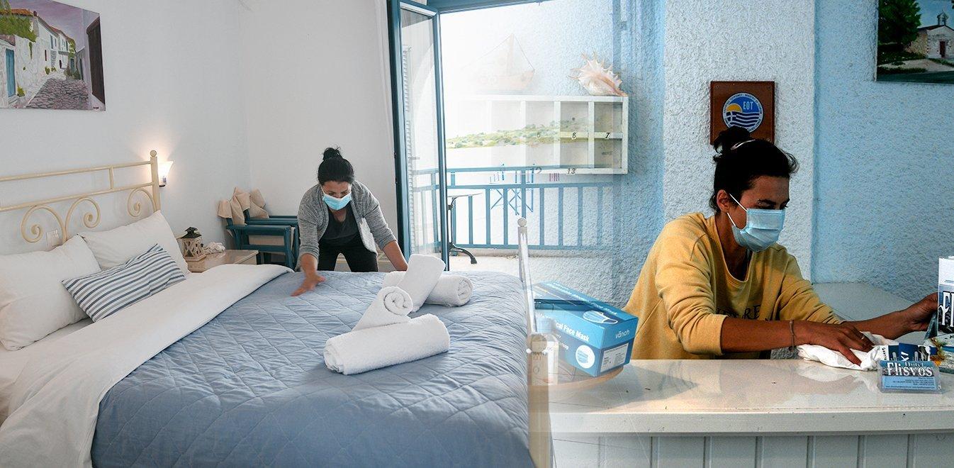 Χαλκιδική: Δωμάτια καραντίνας σε όλα τα ξενοδοχεία - Αλαλούμ με τα κρούσματα