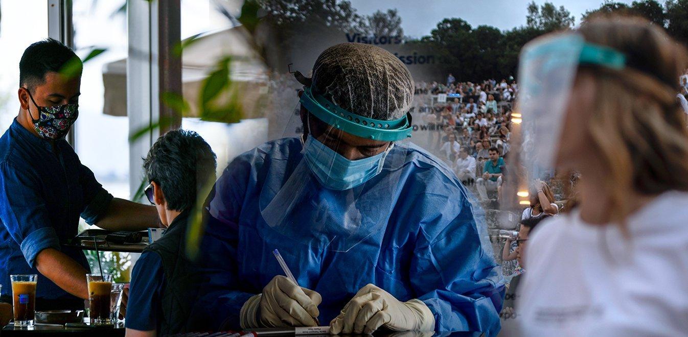 Κοροναϊός: Στα 1.690 τα νέα κρούσματα στην Ελλάδα – Καταγράφηκαν πέντε νέοι θάνατοι