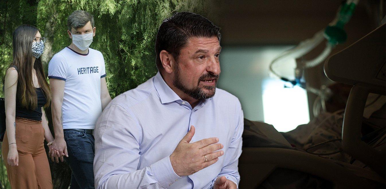Κοροναϊός: «Καμπανάκι» Χαρδαλιά για δέκα περιοχές – «Ο ιός βρίσκεται ακόμα ανάμεσά μας»
