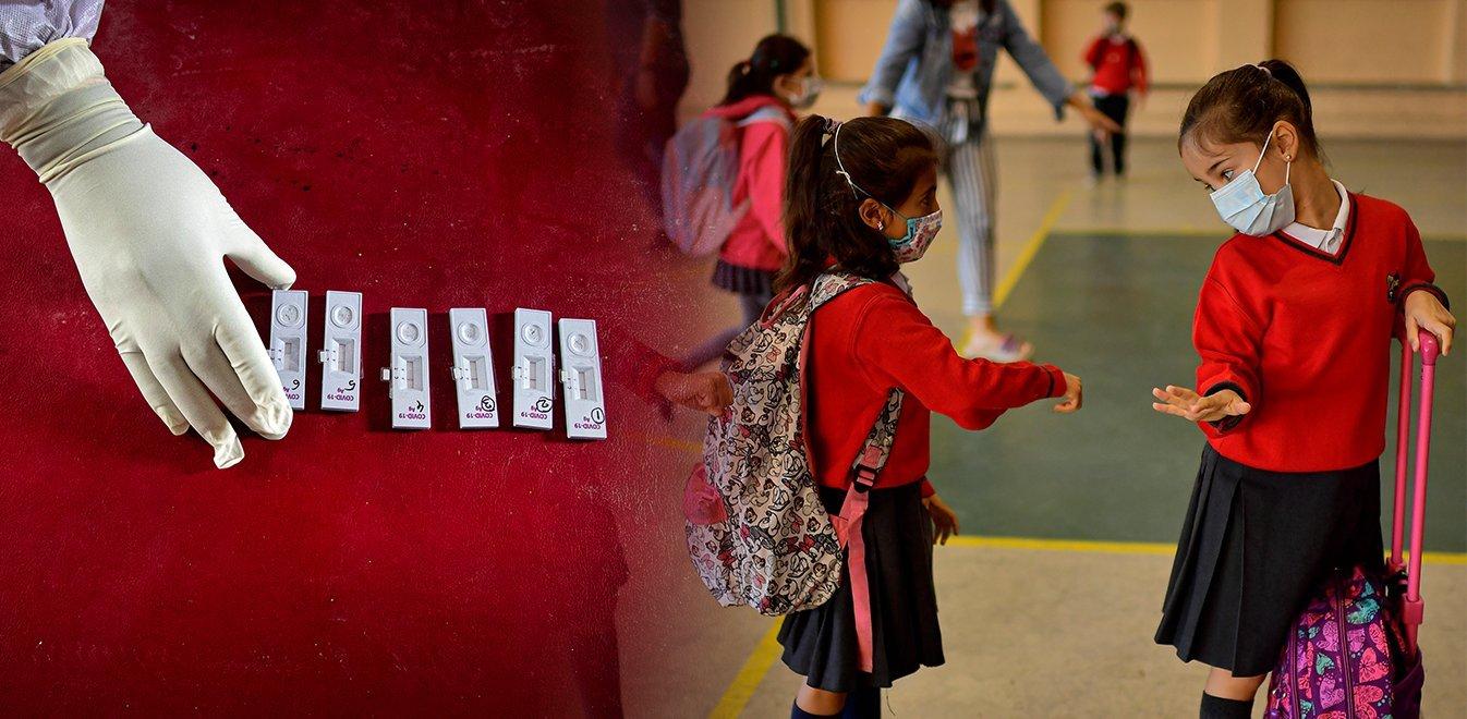 Ανοιγμα σχολείων: Oδηγίες για την ασφαλή επιστροφή των μαθητών στα θρανία στις 10 Μαΐου