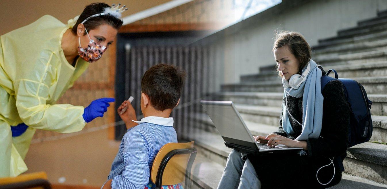 Κορονοϊός - προσομοίωση: Πώς γίνεται η διασπορά σε μαθητές στο σχολείο