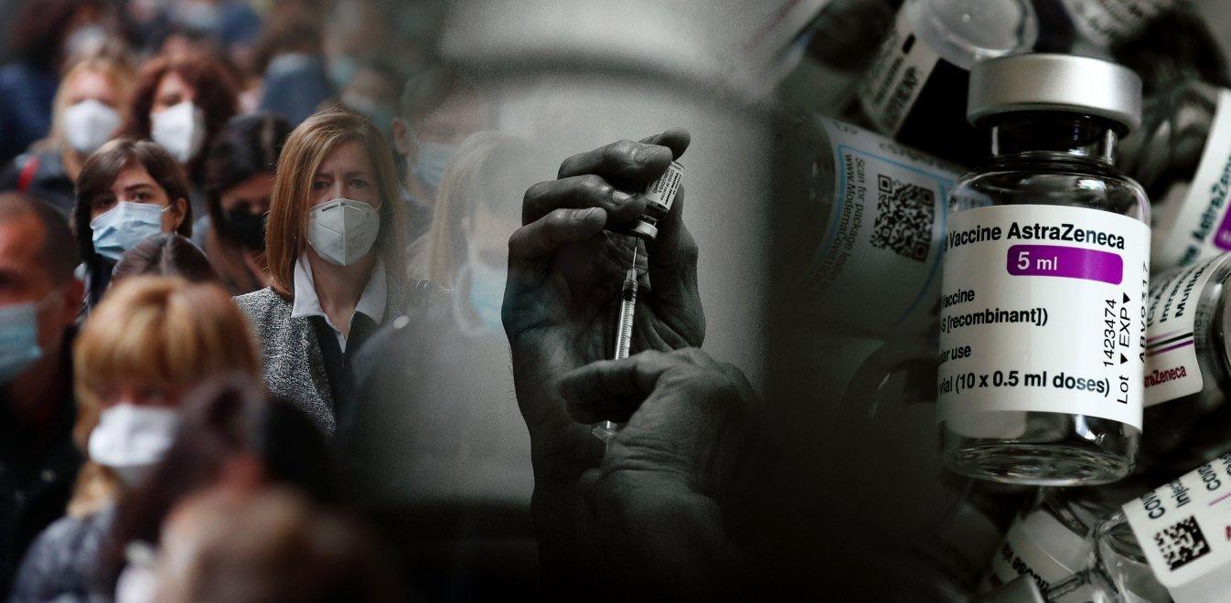 Ανακοινώθηκε επίσημα- Aνω των 60 ετών ο εμβολιασμός με Astrazeneca