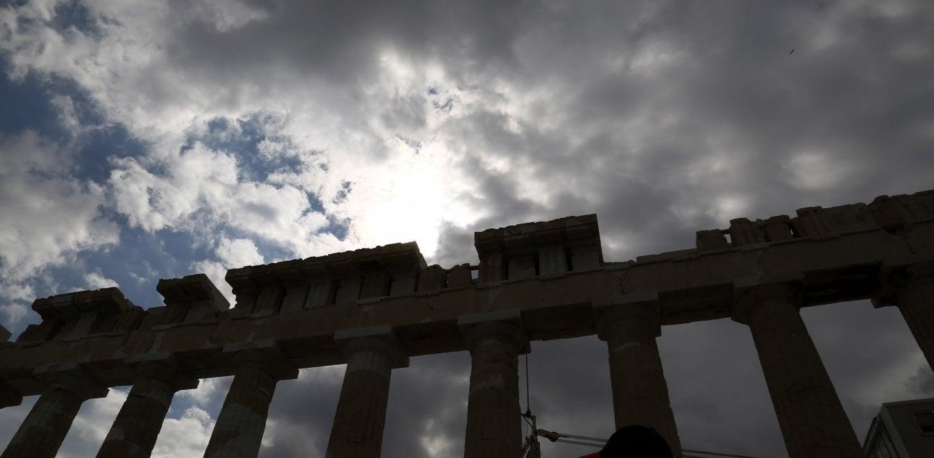 Ακρόπολη- σύννεφα