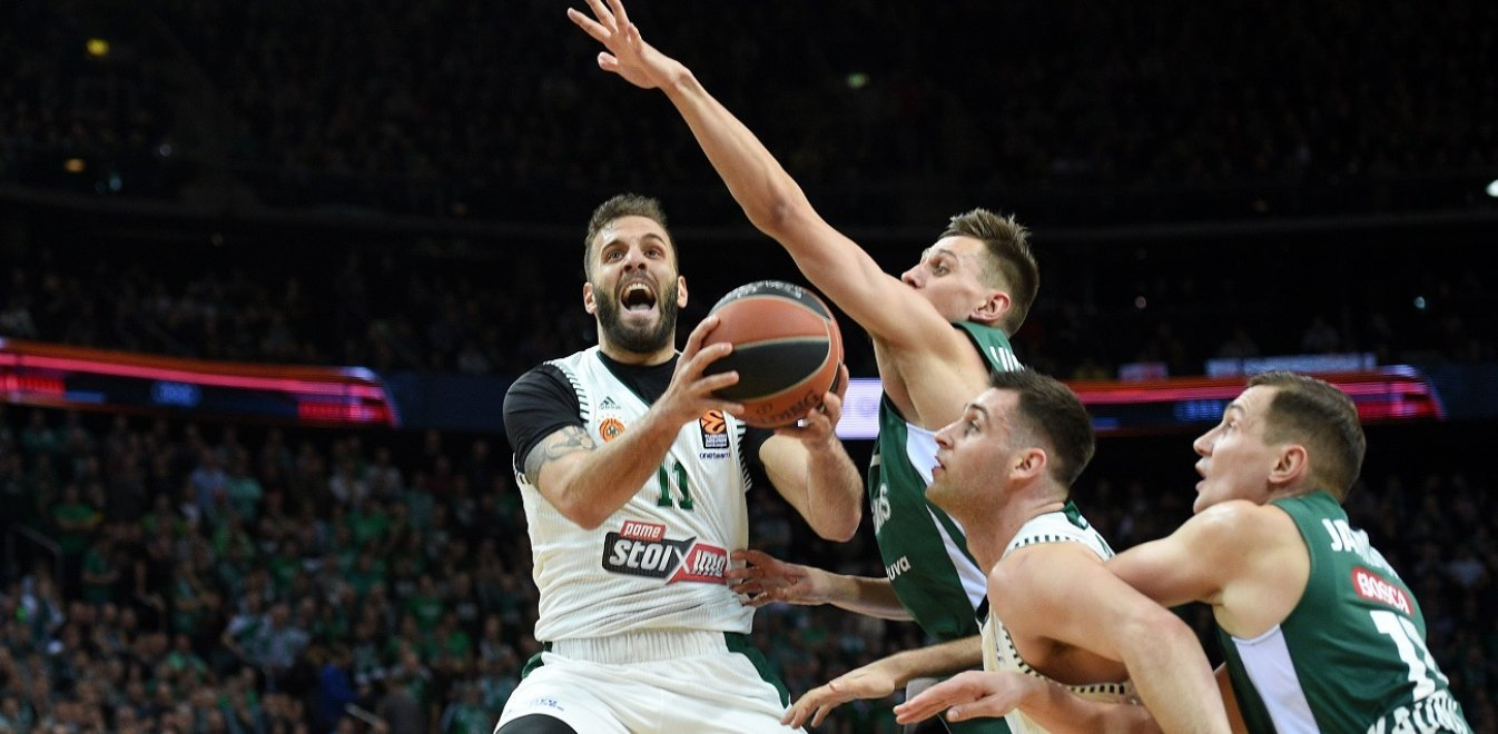 Euroleague: Ο Παναθηναϊκός έχασε (82-69) και από τη Ζαλγκίρις