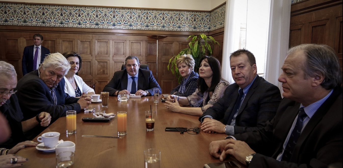 Προς διάλυση οι ΑΝΕΛ μετά την αρνητική γνωμοδότηση του Ε.Σ. της Βουλής