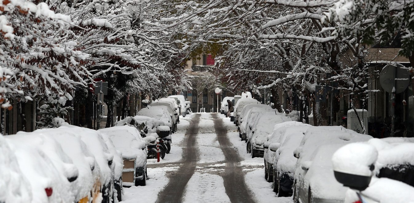 Καιρός: Χιόνια ακόμη και στην Αθήνα την Πρωτοχρονιά