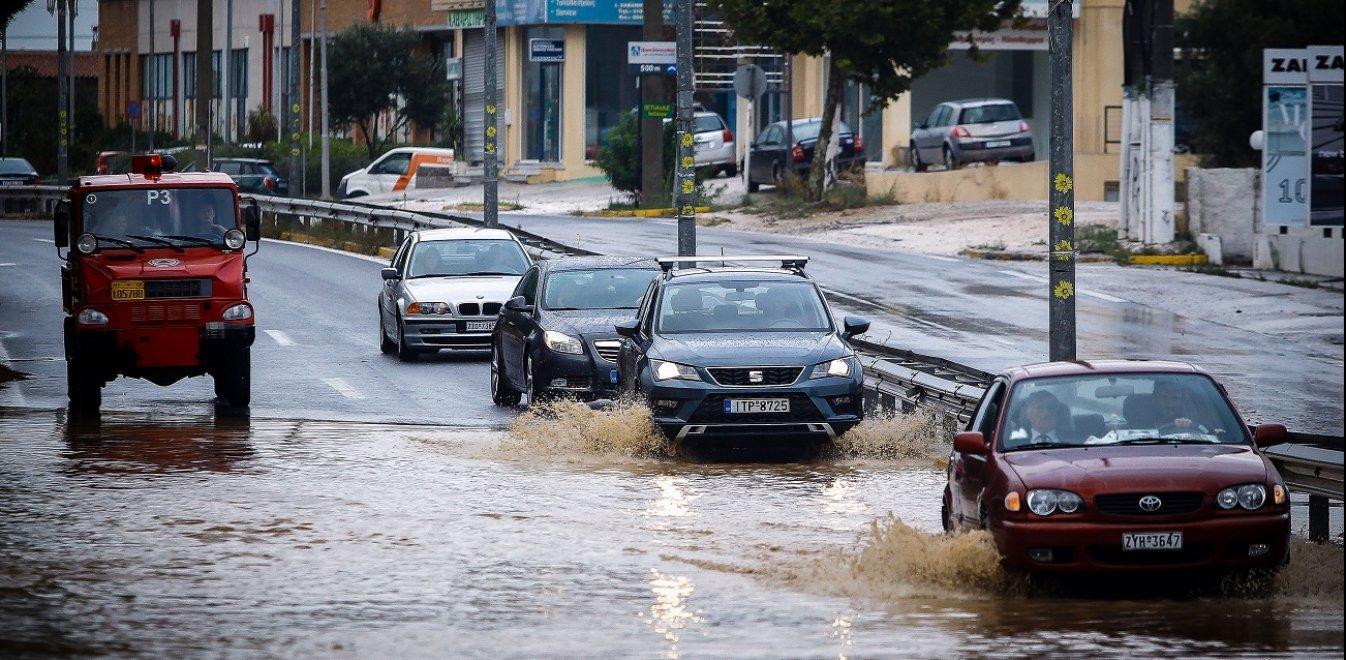Πολύ μεγάλα ύψη βροχής καταγράφησαν τον Ιανουάριο του 2019 σε ολόκληρη σχεδόν τη χώρα