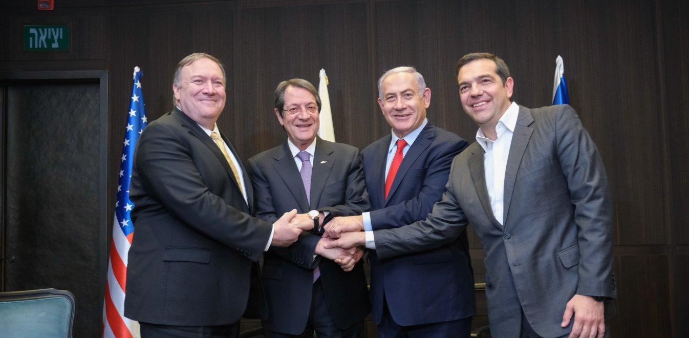 Στήριξη ΗΠΑ σε Ελλάδα - Κύπρο - Ισραήλ