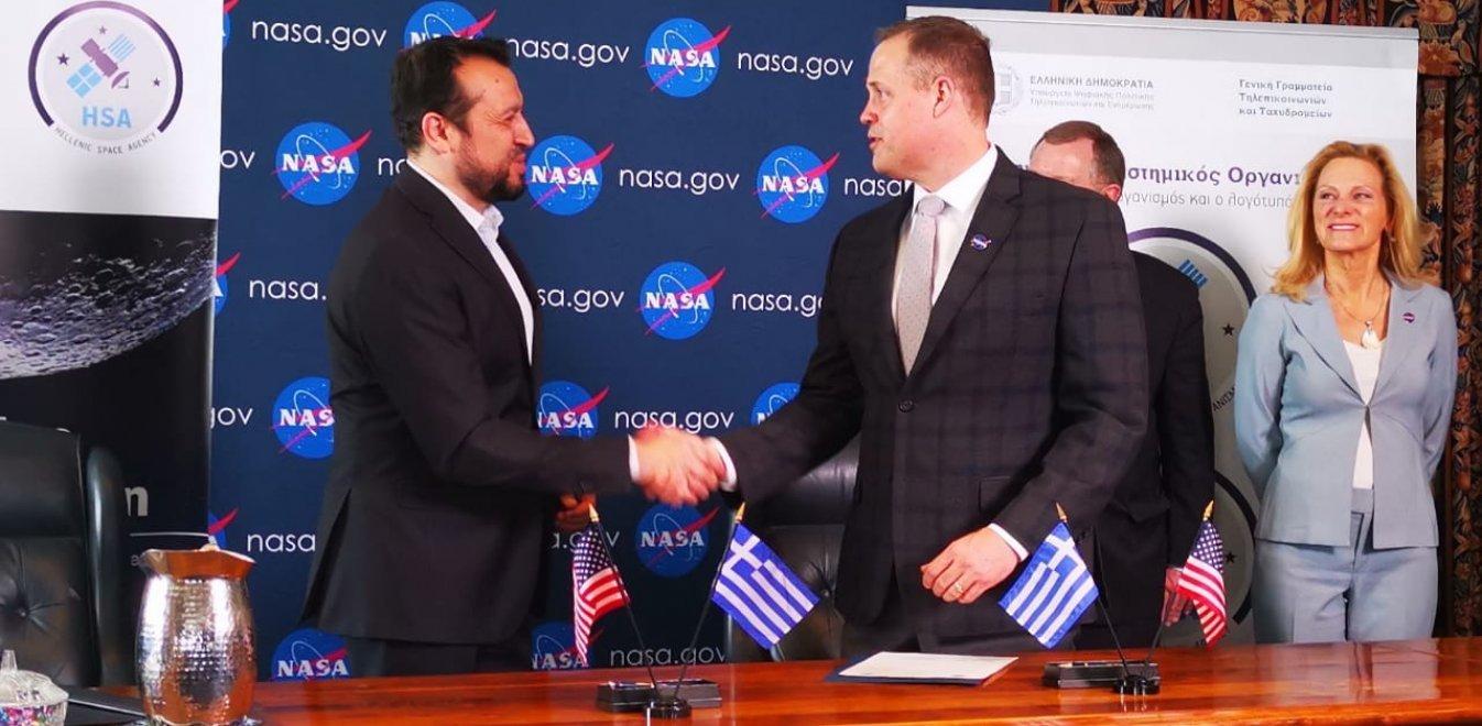 Ν. Παππάς για συμφωνία ΕΛΔΟ-NASA: Τεράστιο βήμα για την Ελλάδα