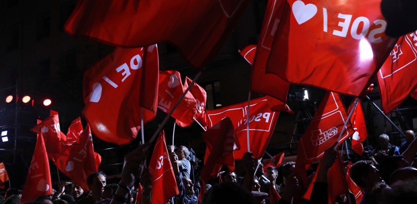 Ισπανία: Νίκησε το Σοσιαλιστικό Κόμμα - Πλειοψηφία (και) με Ποδέμος