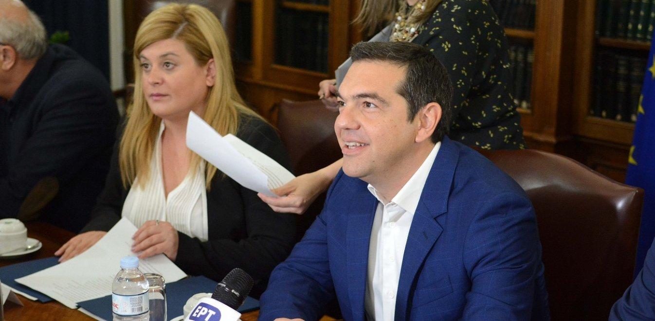 Τσίπρας στην Κοζάνη: «Σταματήσαμε τη ρεμούλα, διώξαμε τους δανειστές»