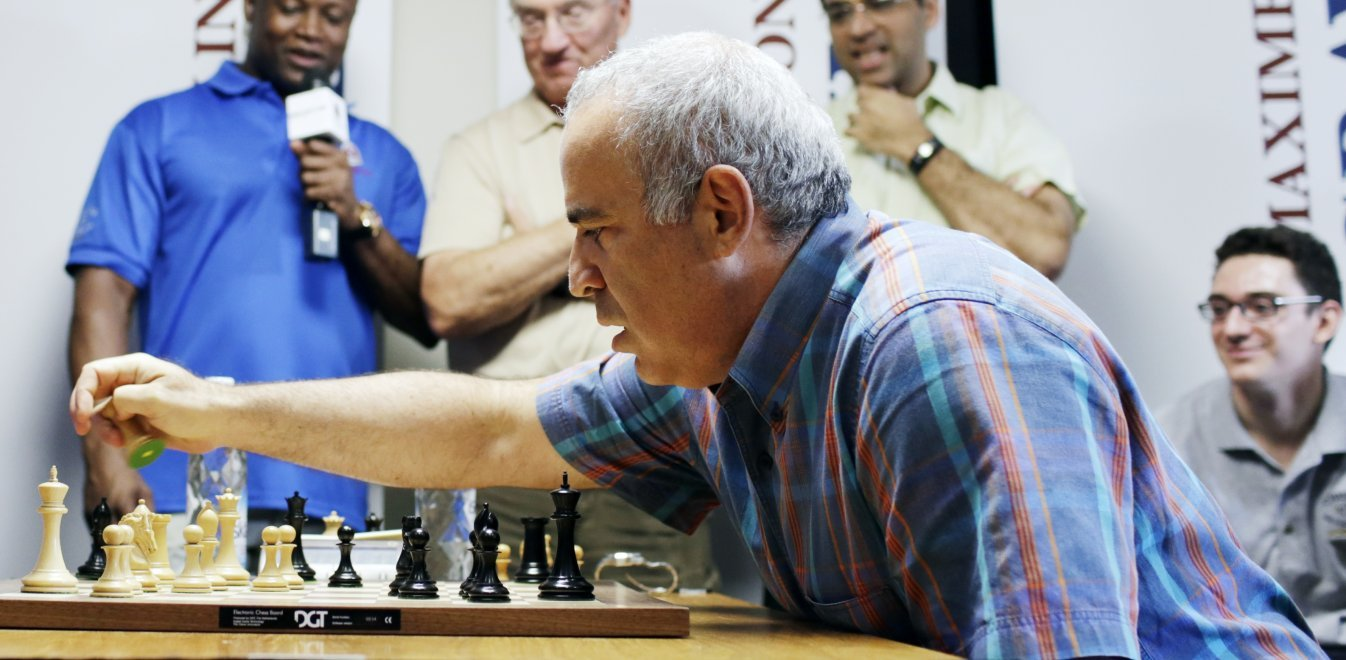 Garry Kasparov in Athens: «Machines will never replace human creativity»