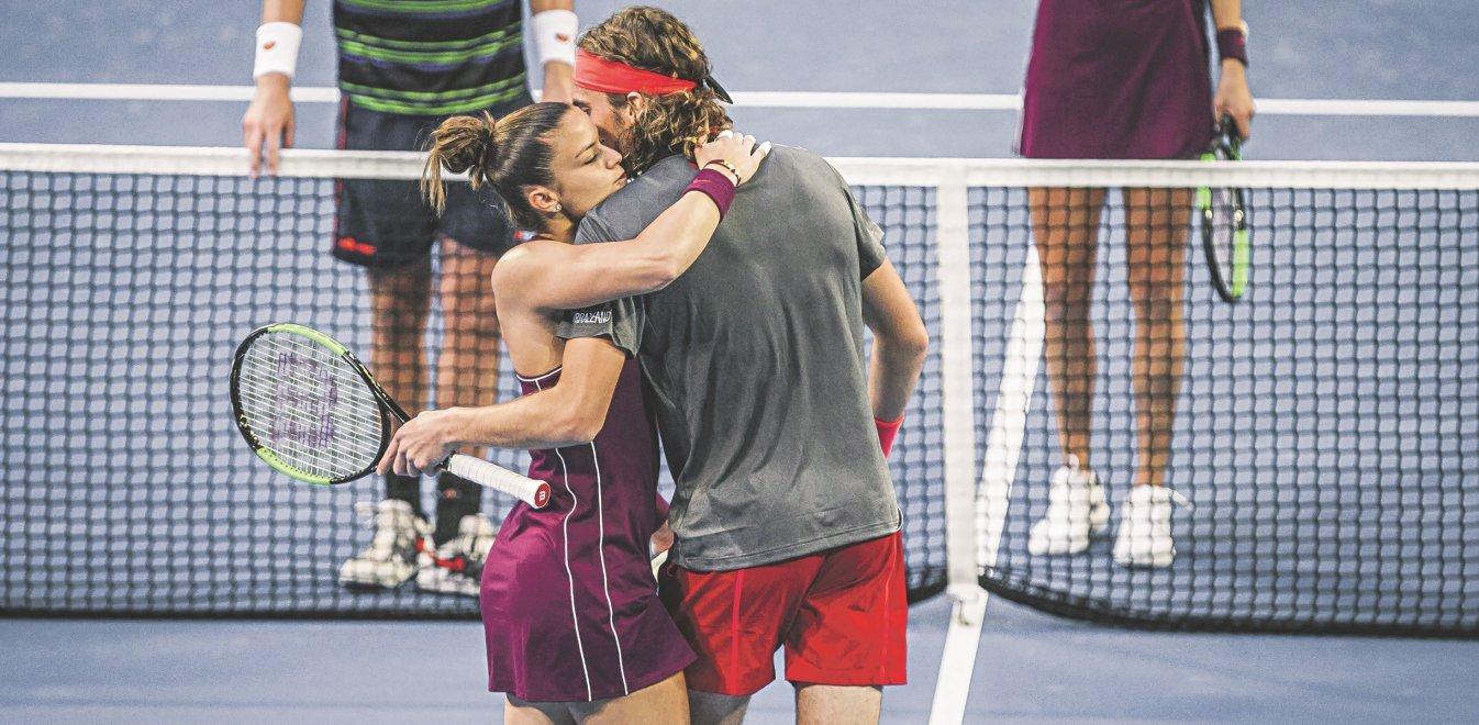 Μαρία Σάκκαρη - Στέφανος Τσιτσιπάς: Ο έρωτας για το τένις τους φέρνει πιο κοντά