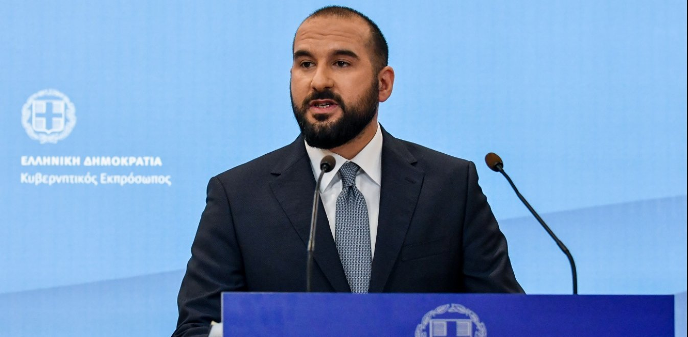 ND's economic policy is 'extremely dangerous', gov't spokesman Tzanakopoulos says