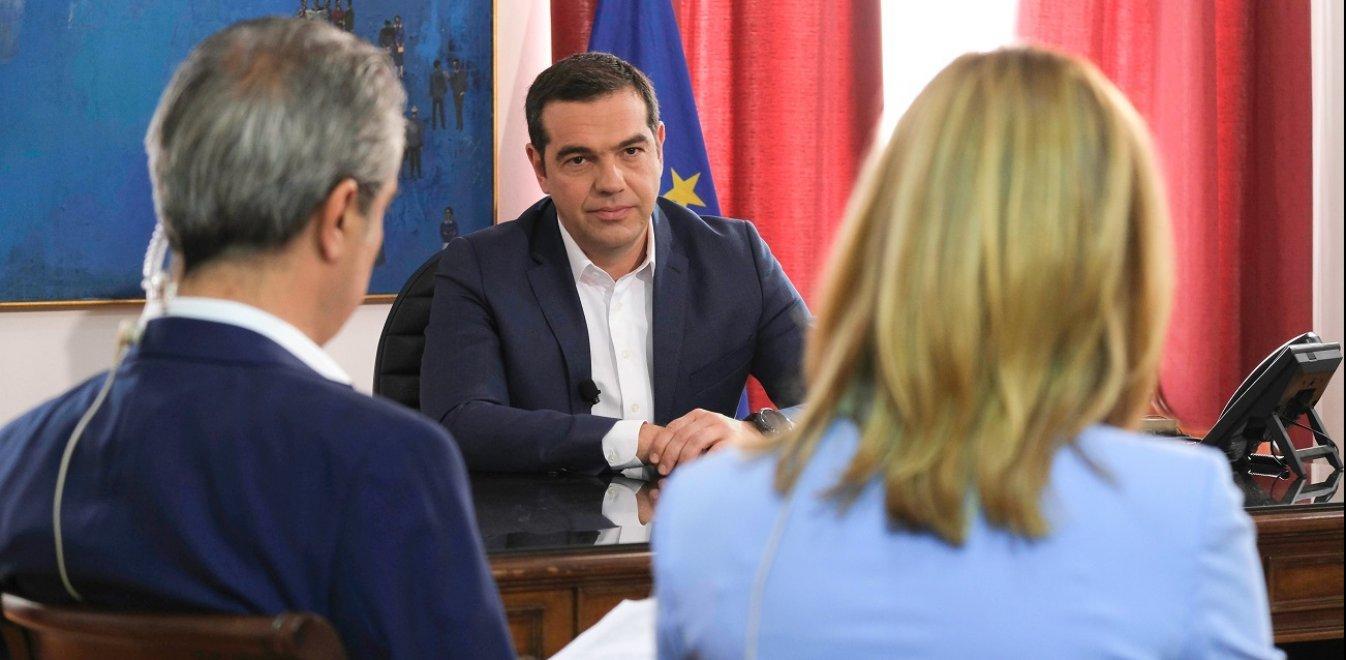 Τσίπρας στην ΕΡΤ3: Επέκταση των 120 δόσεων – Θα κερδίσουμε τις εκλογές