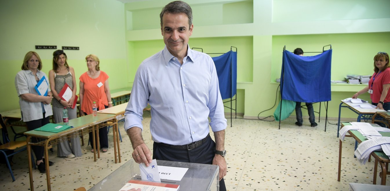 Mitsotakis: 'No collaboration with either SYRIZA or far-right parties after general elections'