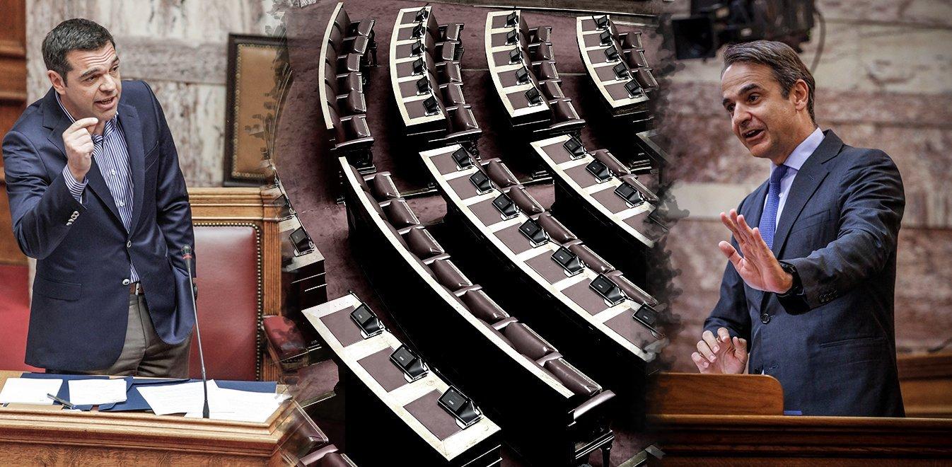 Τσίπρας για ντιμπέιτ: Ο Μητσοτάκης φοβάται ανοικτή πολιτική αντιπαράθεση