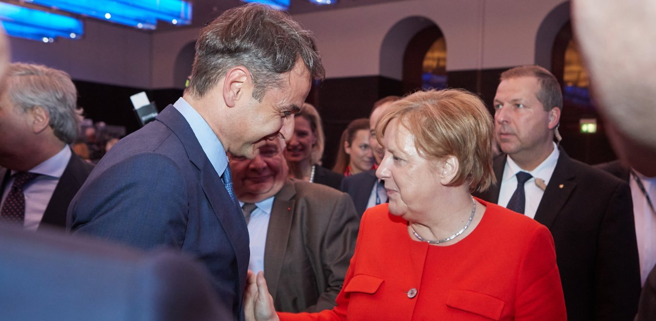 Chancellor Merkel invites PM Mitsotakis to Berlin