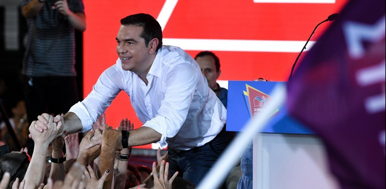 PM Tsipras at Syntagma calls on voters not to erase four years of achievements