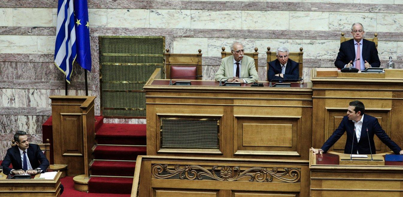Τσίπρας σε Μητσοτάκη: Δεν θα ζητήσω εκλογές σε πέντε μήνες (vid)