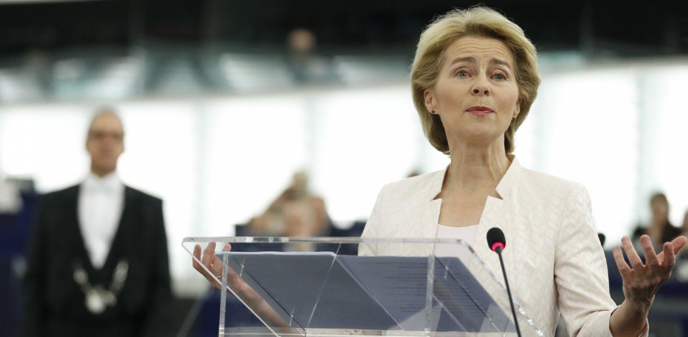 Η Ούρσουλα φον ντερ Λάιεν αντιμέτωπη με μια κρίσιμη ψηφοφορία για την προεδρία της Κομισιόν