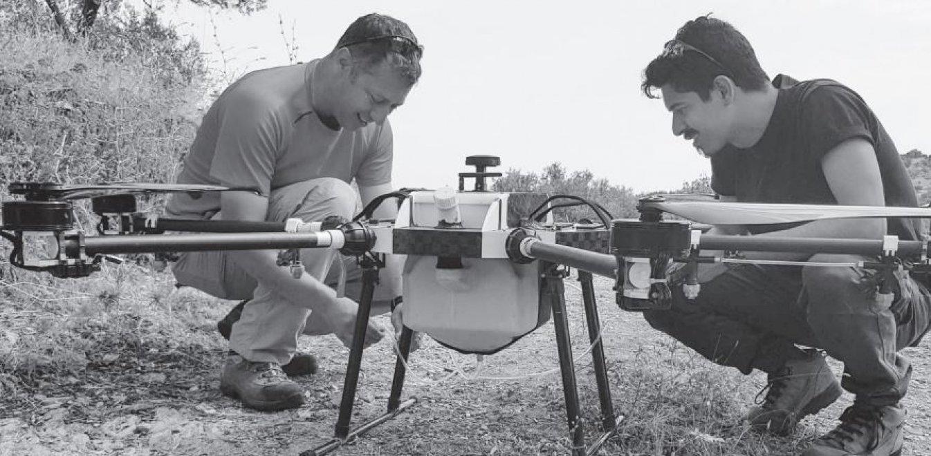 Λέσβος: Με drones στη μάχη για την καταπολέμηση του δάκου