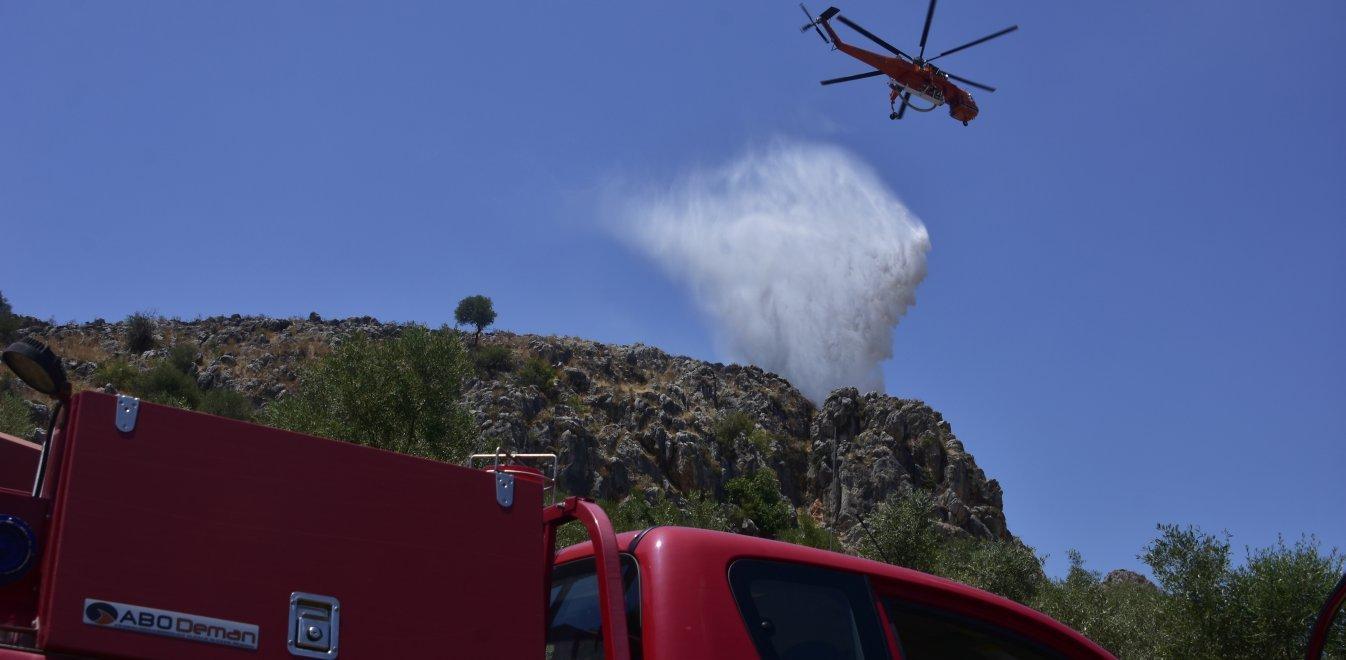 Σαλαμίνα: Φωτιά ξέσπασε στην περιοχή Κακή Βίγλα