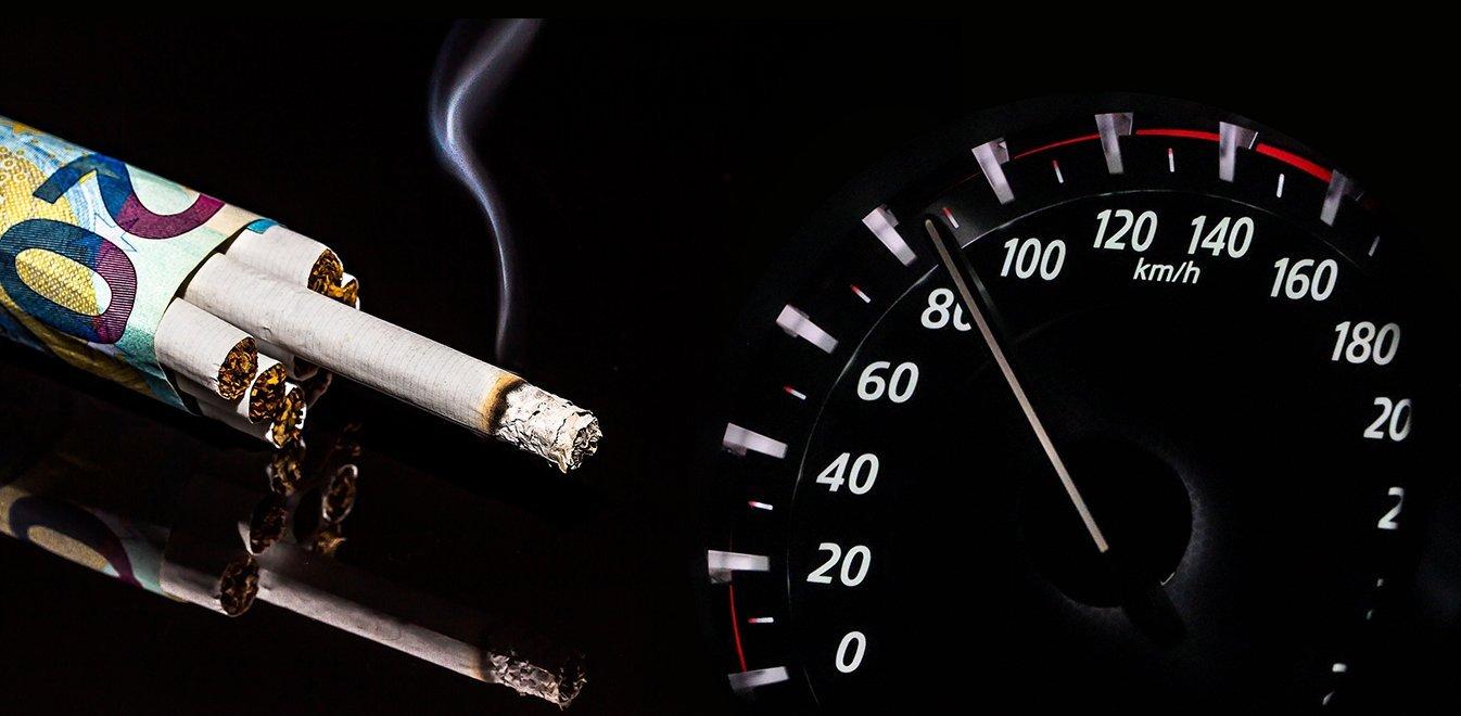 Αντικαπνιστικός νόμος: Αυστηρά πρόστιμα για καπνιστές οδηγούς