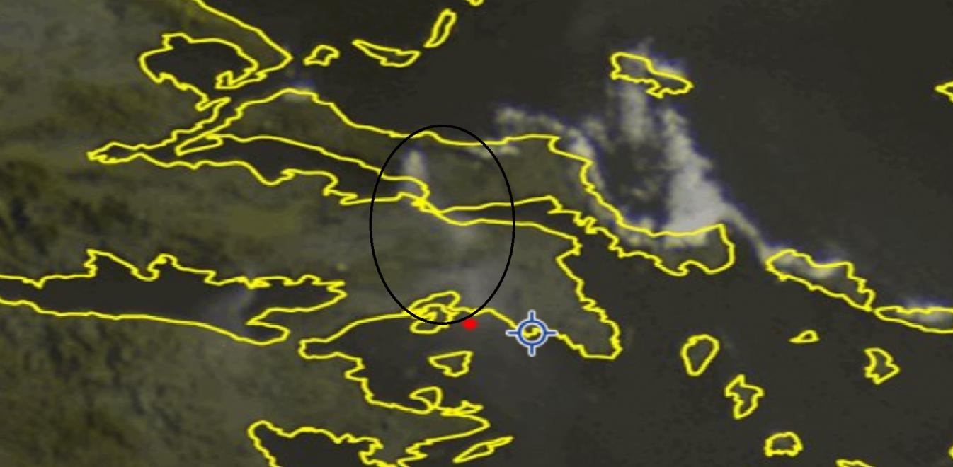 Φωτιά τώρα: Βίντεο από τη μεγάλη φωτιά στην Εύβοια - Ο καπνός φαίνεται από το Διάστημα