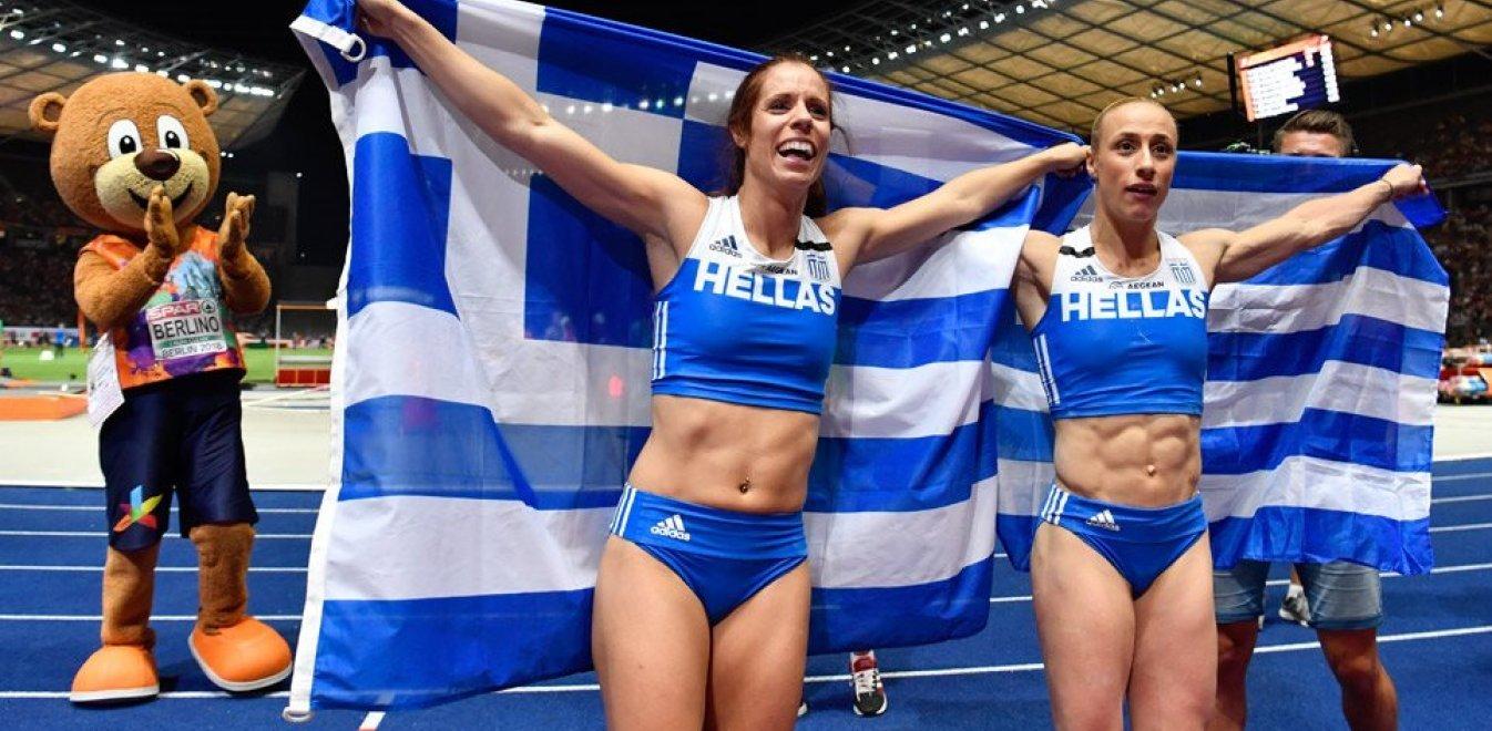 Παγκόσμιο στίβου: Διπλή πρόκριση στον τελικό από Στεφανίδη και Κυριακοπούλου