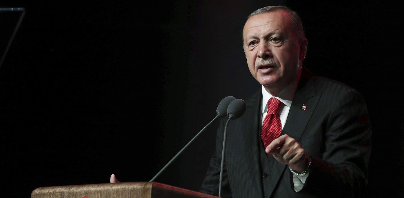 Ερντογάν: Η Τουρκία δεν θα τερματίσει την επιχείρησή της παρά τις «απειλές»