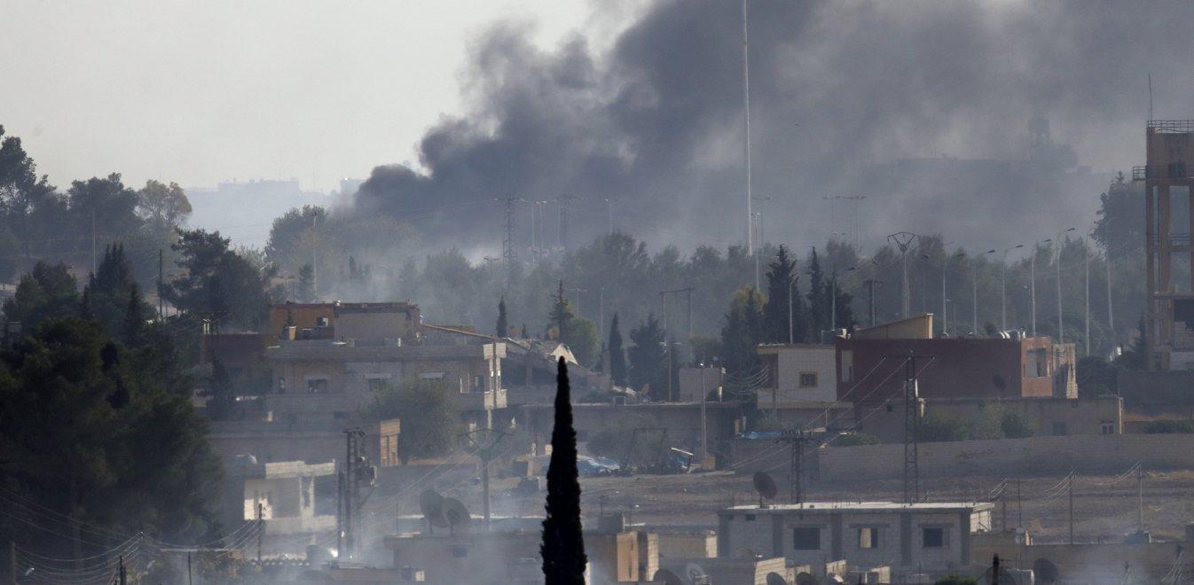 Συμφωνία Κούρδων και Δαμασκού - Ο συριακός στρατός στα σύνορα με την Τουρκία