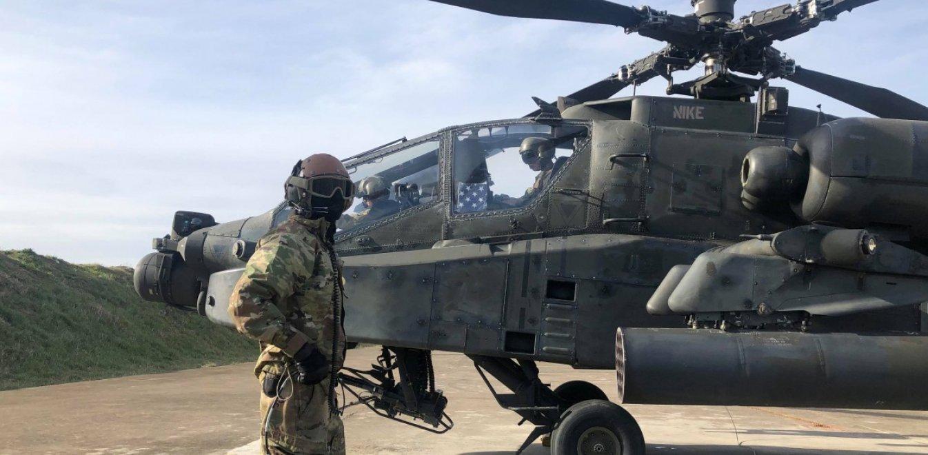 Στο Στεφανοβίκειο Μαγνησίας αμερικανικά στρατιωτικά ελικόπτερα | Έθνος