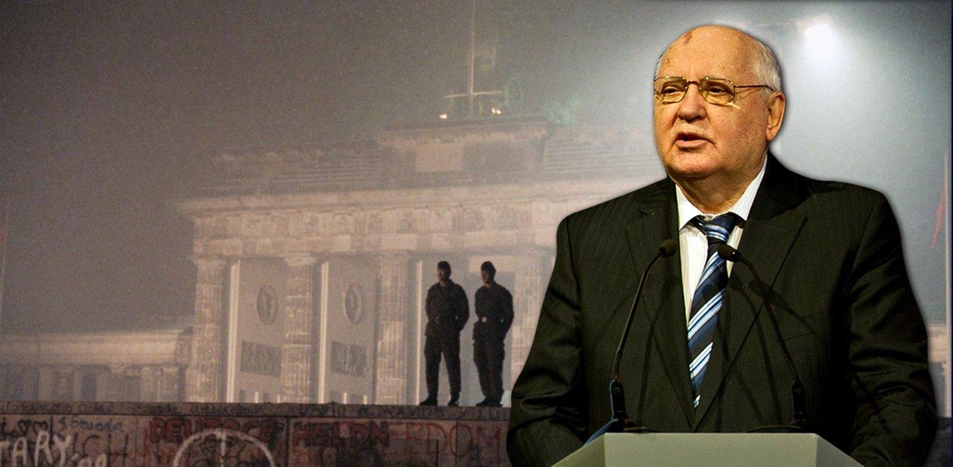 Γκορμπατσόφ: Ανήσυχος για τις σχέσεις Δύσης- Ρωσίας 30 χρόνια μετά την πτώση του Τείχους