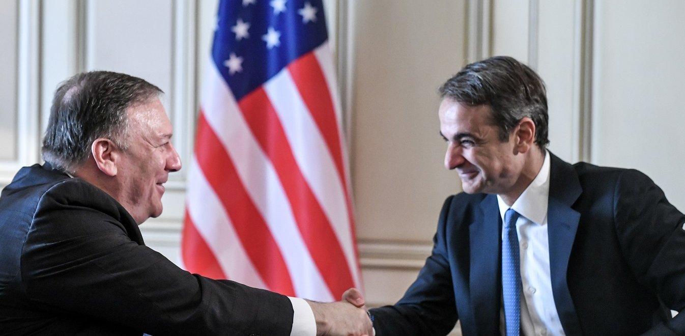 Ο Μητσοτάκης ζήτησε τη συμβολή των ΗΠΑ για την τουρκική προκλητικότητα