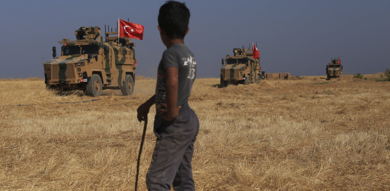 Ο Λευκός Οίκος έδωσε την άδεια στον Ερντογάν να εισβάλει στη Συρία