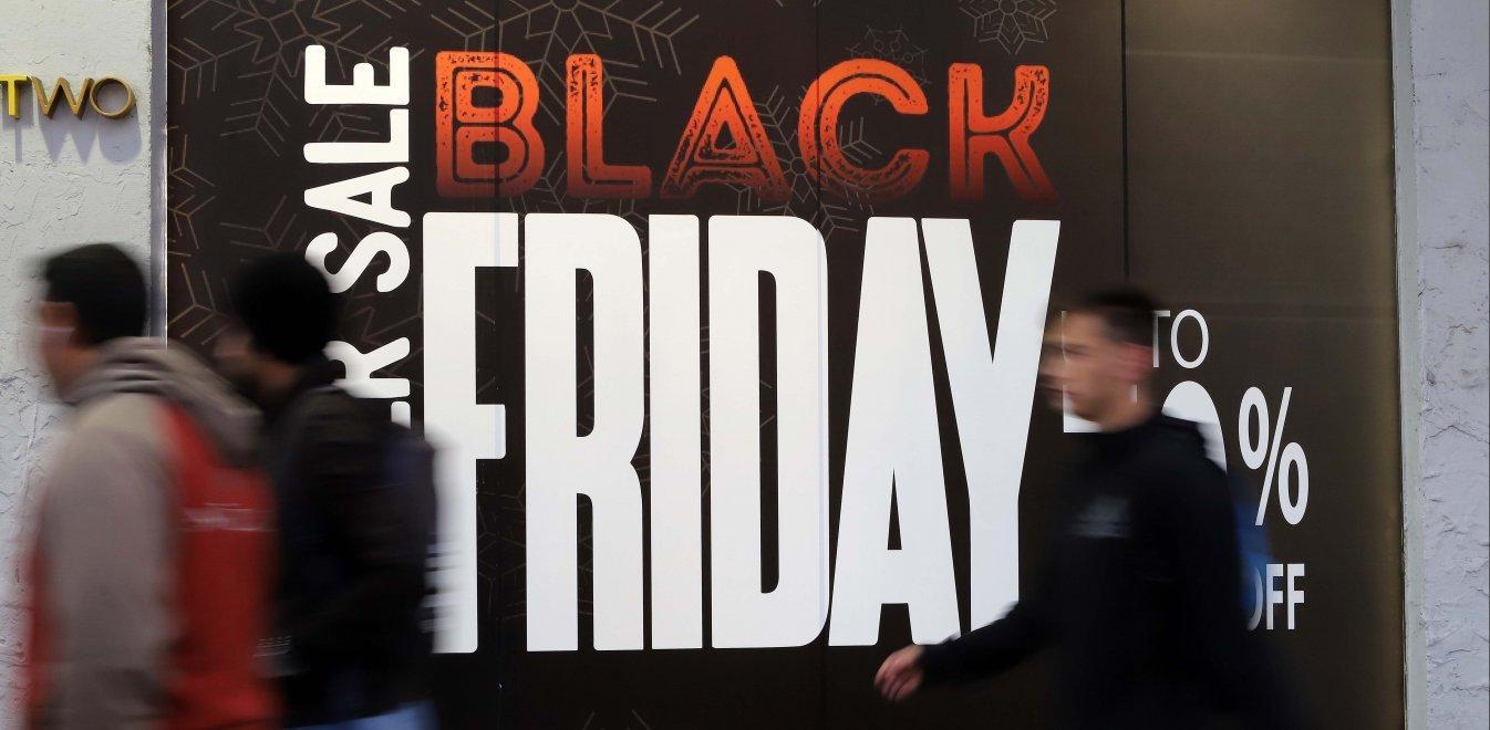 Πότε πέφτει φέτος η Black Friday και ποια καταστήματα θα έχουν προσφορές