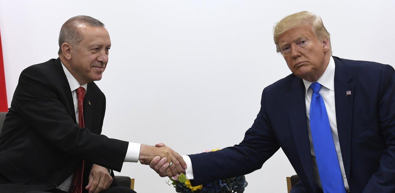 Τραμπ - Ερντογάν: Τα μυστικά ραντεβού και οι τέσσερις άνθρωποι που τους ενώνουν
