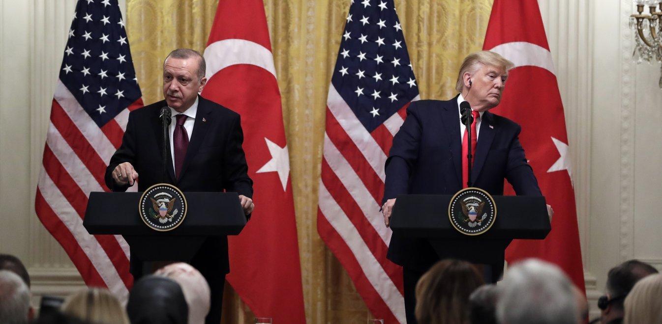 Γιατί ο Τραμπ δεν θα συναντηθεί με τον Ερντογάν στο Λονδίνο: Ότι είχαν να πουν, το είπαν!
